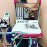 全身麻酔器の写真