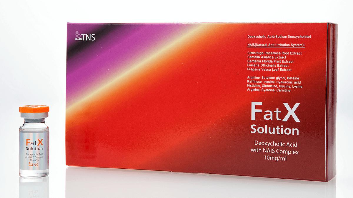 FatX商品写真|小顔・輪郭美容整形の銀座フェイスクリニック