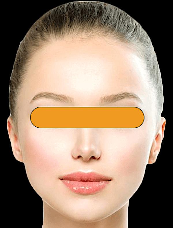 目隠しモニター 例1