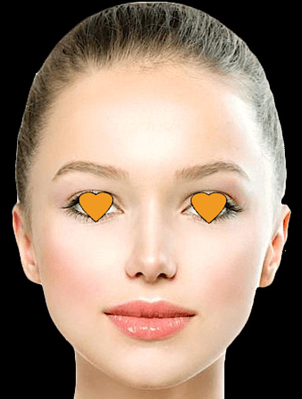 目隠しモニター 例2